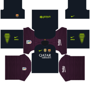 Barcelona Goalkeeper Away Kit new