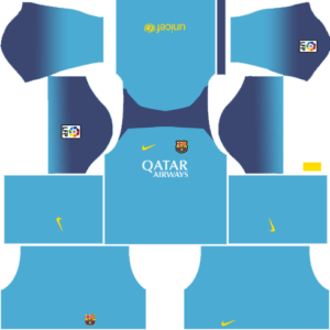 Barcelona new Goalkeeper Away Kit