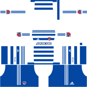FC Dallas DLS Away Kit