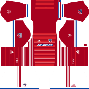 Home kit of FC Dallas