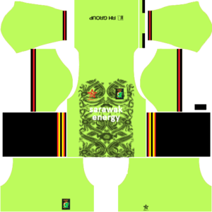Sarawak DLS Goalkeeper Home Kit