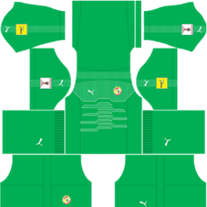 Senegal DLS Goalkeeper Away Kit