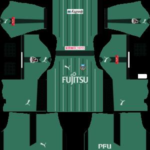Kawasaki Frontale DLS Goalkeeper Home Kit
