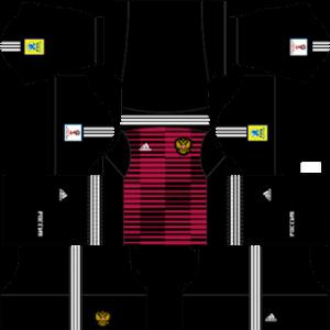 Russia DLS Goalkeeper Third Kit