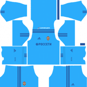CSKA Moscow DLS Goalkeeper Away Kit