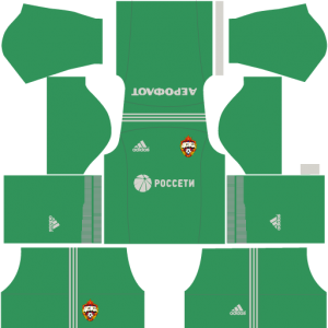 CSKA Moscow DLS Goalkeeper Home Kit
