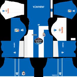 Deportivo DE LA Coruna DLS Home Kit