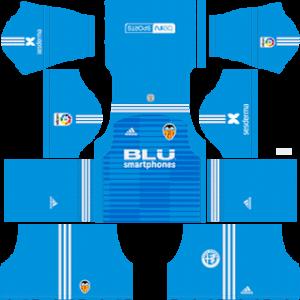 Valencia CF DLS Goalkeeper Away Kit