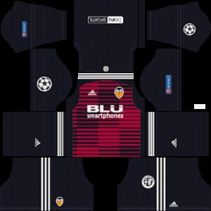 Valencia CF DLS Goalkeeper Home UCL Kit