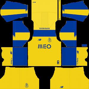 F C Porto DLS Away Kit