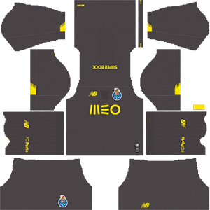 F C Porto DLS Goalkeeper Home Kit