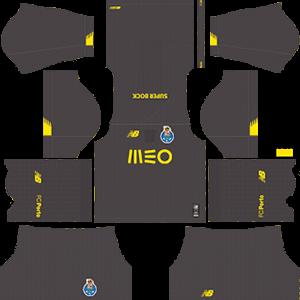 F C Porto DLS Goalkeeper Home Kit