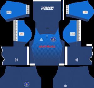 Pahang DLS Goalkeeper Away Kit