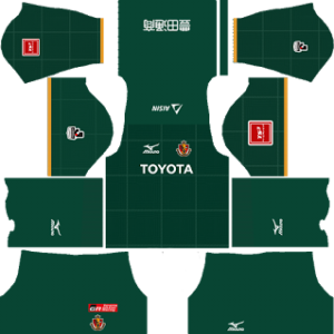 Nagoya Grampus DLS Goalkeeper Home Kit