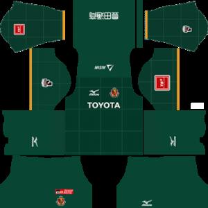 Nagoya Grampus DLS Goalkeeper Home Kit